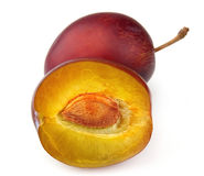 Sweet plums Stock Image