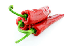 Sweet pointy pepper stock photos