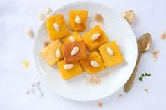 Sweet polenta Royalty Free Stock Photos