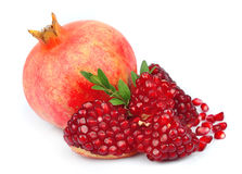 Sweet pomegranate Stock Image