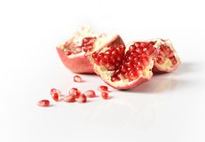 Sweet pomegranate Stock Images