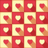 Sweet pop-art pattern for love Stock Images
