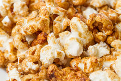 Sweet popcorn background Stock Photos