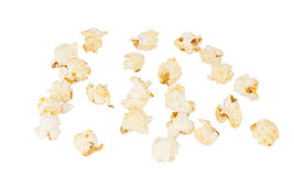 Sweet popcorn isolated Stock Photo