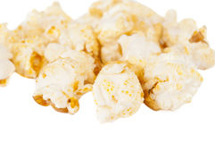 Sweet popcorn isolated Royalty Free Stock Photos