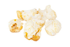 Sweet popcorn isolated Royalty Free Stock Photo