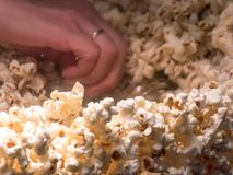 Sweet popcorns royalty free stock photo
