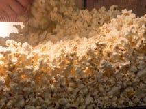 Sweet popcorns stock photography