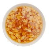 Sweet porridge bowl Stock Photography