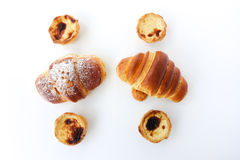 Sweet Portuguese Pastry Stock Photos