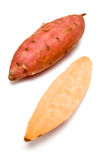 Sweet Potato. Sweet Potatoes on a white studio background Royalty Free Stock Images