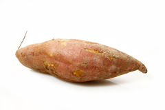 Sweet potato. It is a sweet potato isolated on white background Royalty Free Stock Photography