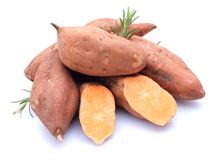Sweet potato stock image