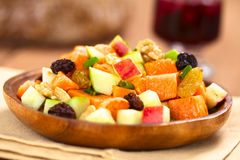 Free Sweet Potato And Apple Salad Royalty Free Stock Photos - 52646048