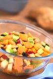 Sweet Potato and Apple Salad Stock Photos