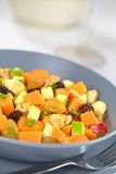 Sweet Potato and Apple Salad Stock Image