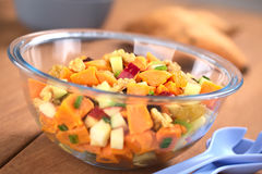 Sweet Potato and Apple Salad Royalty Free Stock Images