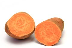 Sweet potato or batata (Ipomoea batatas) Royalty Free Stock Photos