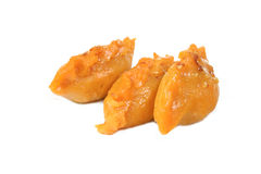 Sweet potato cake sunpan Stock Photos