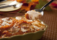 Sweet potato casserole Royalty Free Stock Images