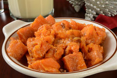 Sweet potato casserole Royalty Free Stock Photos