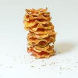 Sweet potato chips Royalty Free Stock Photo