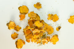 Sweet potato chips Stock Photography