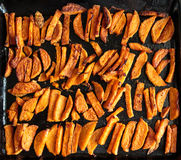 Sweet potato chips Royalty Free Stock Photography