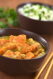 Sweet Potato and Coconut Curry Royalty Free Stock Photography
