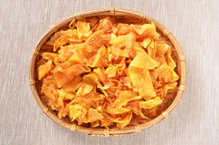 sweet potato crisp Royalty Free Stock Image