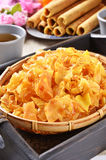 Sweet potato crisp Royalty Free Stock Photo