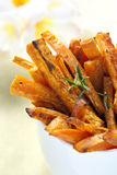 Sweet Potato Fries Stock Images