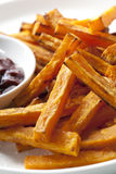 Sweet Potato Fries Royalty Free Stock Images