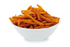 Sweet Potato Fries Royalty Free Stock Photography