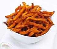 Sweet Potato Fries Royalty Free Stock Photos
