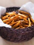 Sweet potato fries Stock Photography