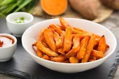 Sweet potato fries Stock Photo