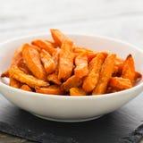 Sweet potato fries Stock Images