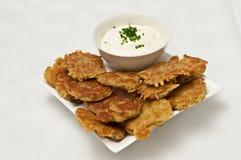 Sweet potato Frittas Royalty Free Stock Photos