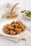 Sweet potato gnocchi Royalty Free Stock Images