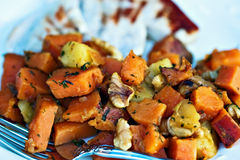 Sweet Potato Hash Royalty Free Stock Photography