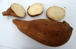 Sweet potato, Ipomoea batatas Stock Image
