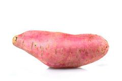 Sweet Potato isolated on white background. Royalty Free Stock Photos