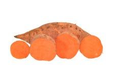 Sweet potato isolated on white background Royalty Free Stock Photo