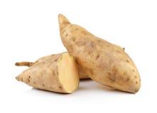Sweet potato isolated on white background Stock Photos
