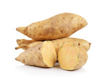 Sweet potato isolated on white background Stock Photo