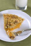 Sweet potato pie Stock Photos