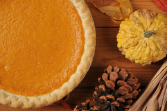 Sweet potato pie Stock Images