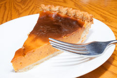 Sweet potato pie Royalty Free Stock Images