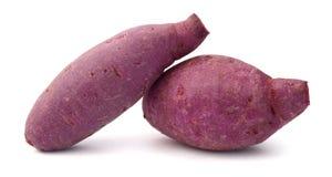 Sweet potato. Es on the white background Royalty Free Stock Image